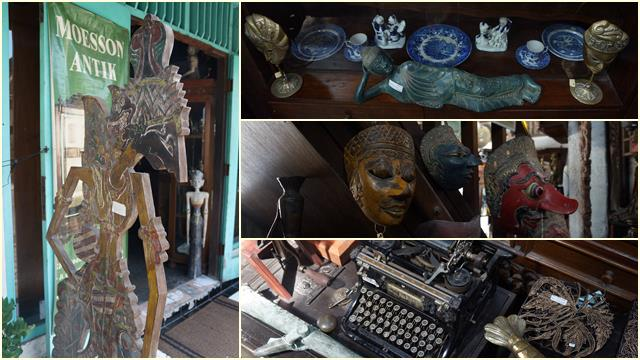 Prawirotaman I adalah pusatnya barang antik, kolektor barang antik pasti suka!