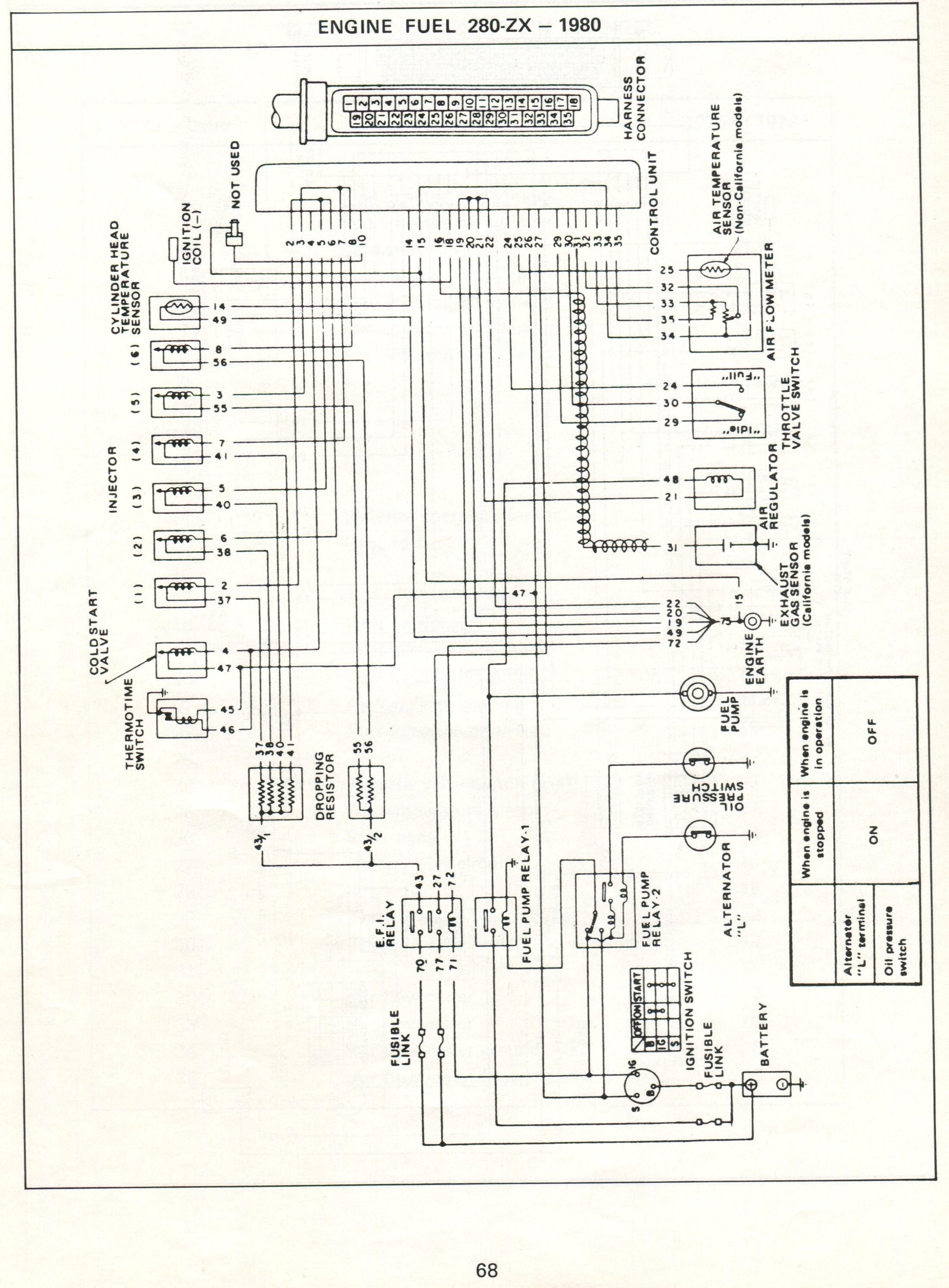 Schematic Fuel Injector Wiring Diagram