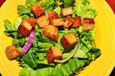 Beautifying Salad with Honey Mustard Vinaigrette