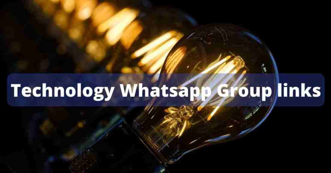 500+ Latest Technology Whatsapp Group links 1