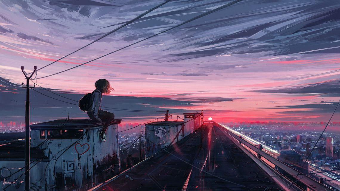 Desktop Wallpaper Hd Anime Aesthetic