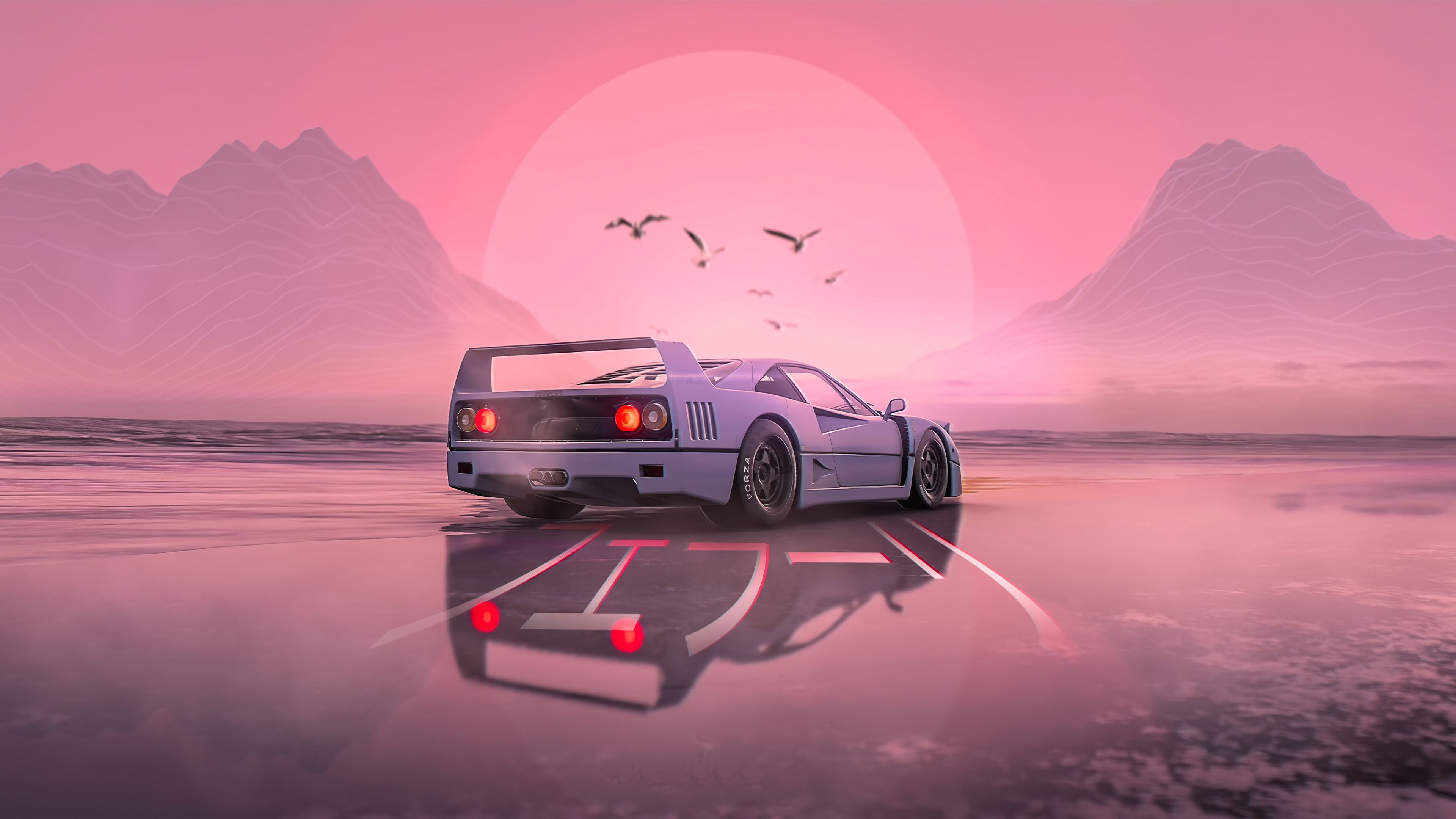 Download high quality 4k car wallpapers of supercars, hyper cars, muscle cars, sports cars, concepts & exotics for your desktop, phone or tablet. Vaporwave Car Wallpaper 4k