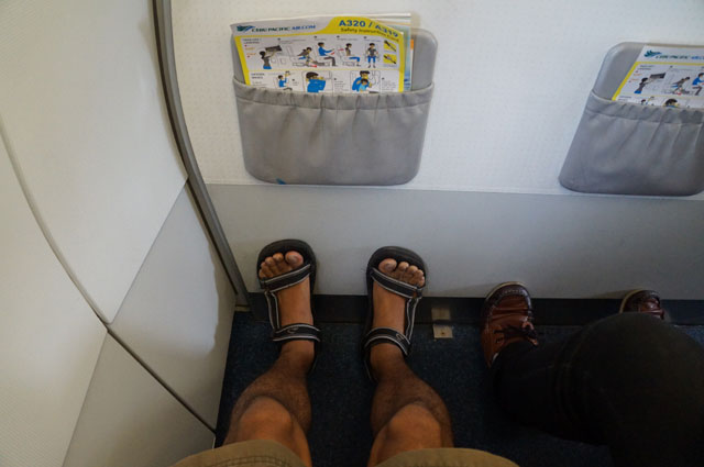 Seat 1 A is Indeed the best seat for me!