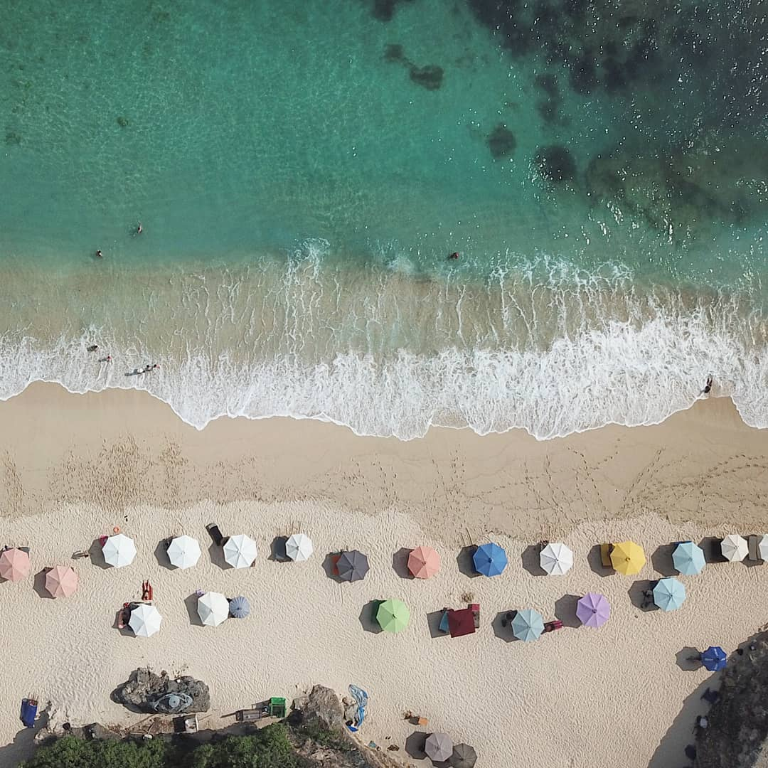 Melasti Beach, Badung, Bali is on the top of best Bali Beach List