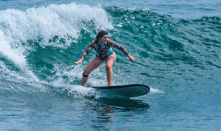 This is also good for surfing, It has really good waves to surf!