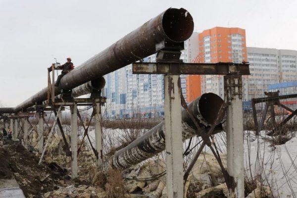 В Кемерове на Притомском уберут старые надземные ...
