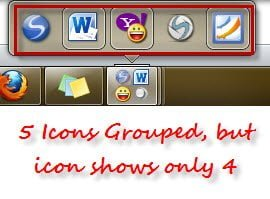Group Taskbar Items in Windows 7 for better access