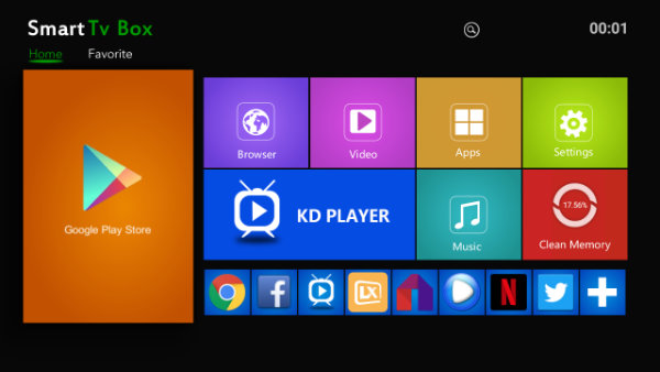 box tv android