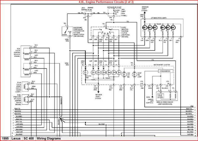 lexus ls400 wiring diagram