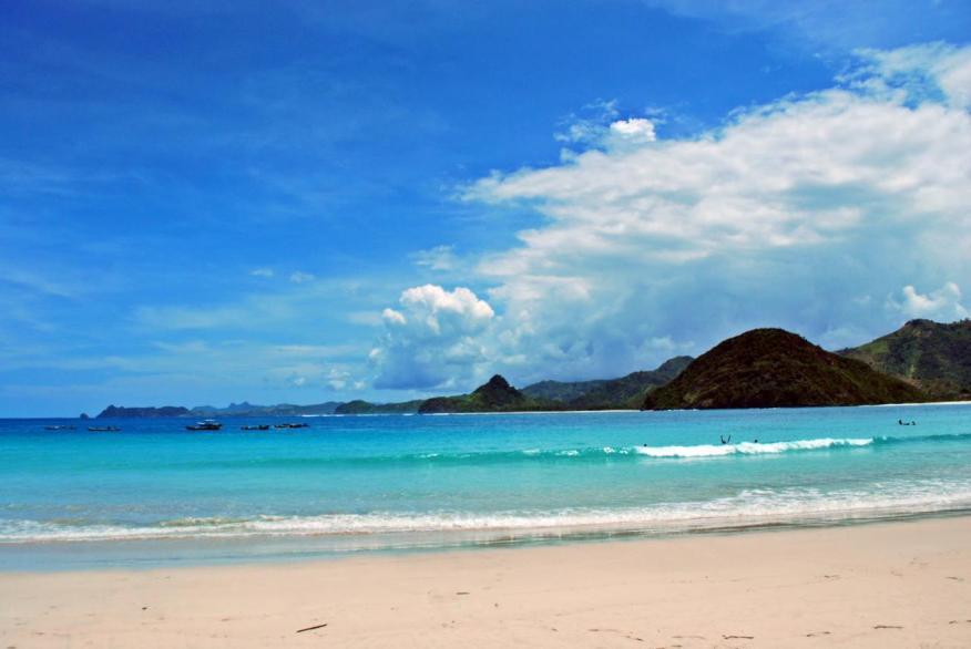 Pesona Keindahan Pantai-Pantai di Pulau Lombok part 2