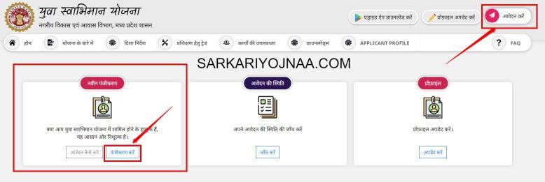 MP Yuva Swabhiman Yojana Online Application, Madhya Pradesh Yuva Swabhiman Yojana