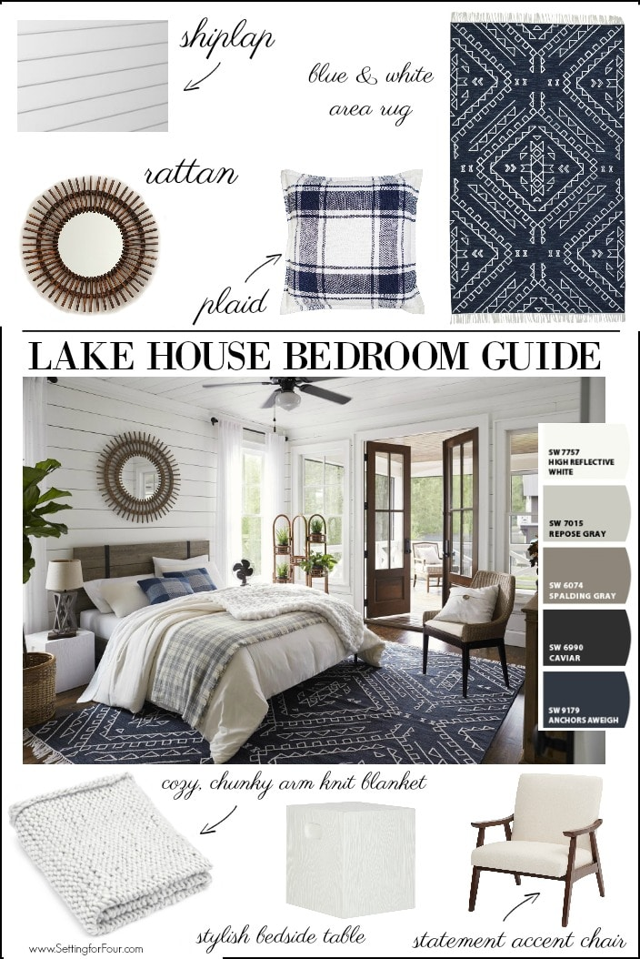 Lake House Bedroom Paint Color Ideas Furniture Decor Ideas Setting For Four