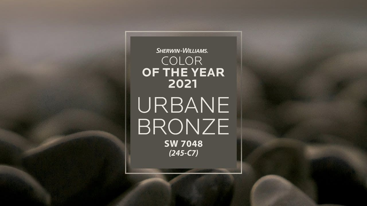 color of the year 2021 sherwin williams urbane bronze sw on country farmhouse exterior paint colors 2021 id=45727
