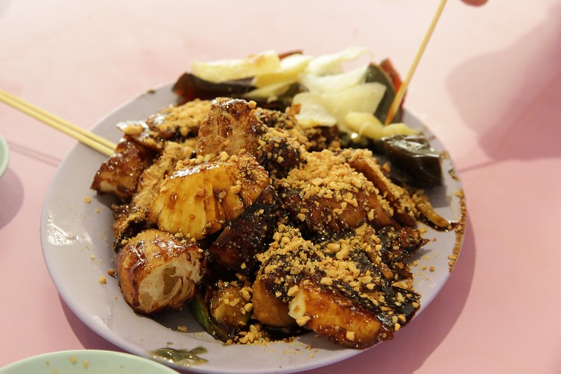 Rojak may contain high in Vitamin C content while tofu is a rich source of keratin and calcium