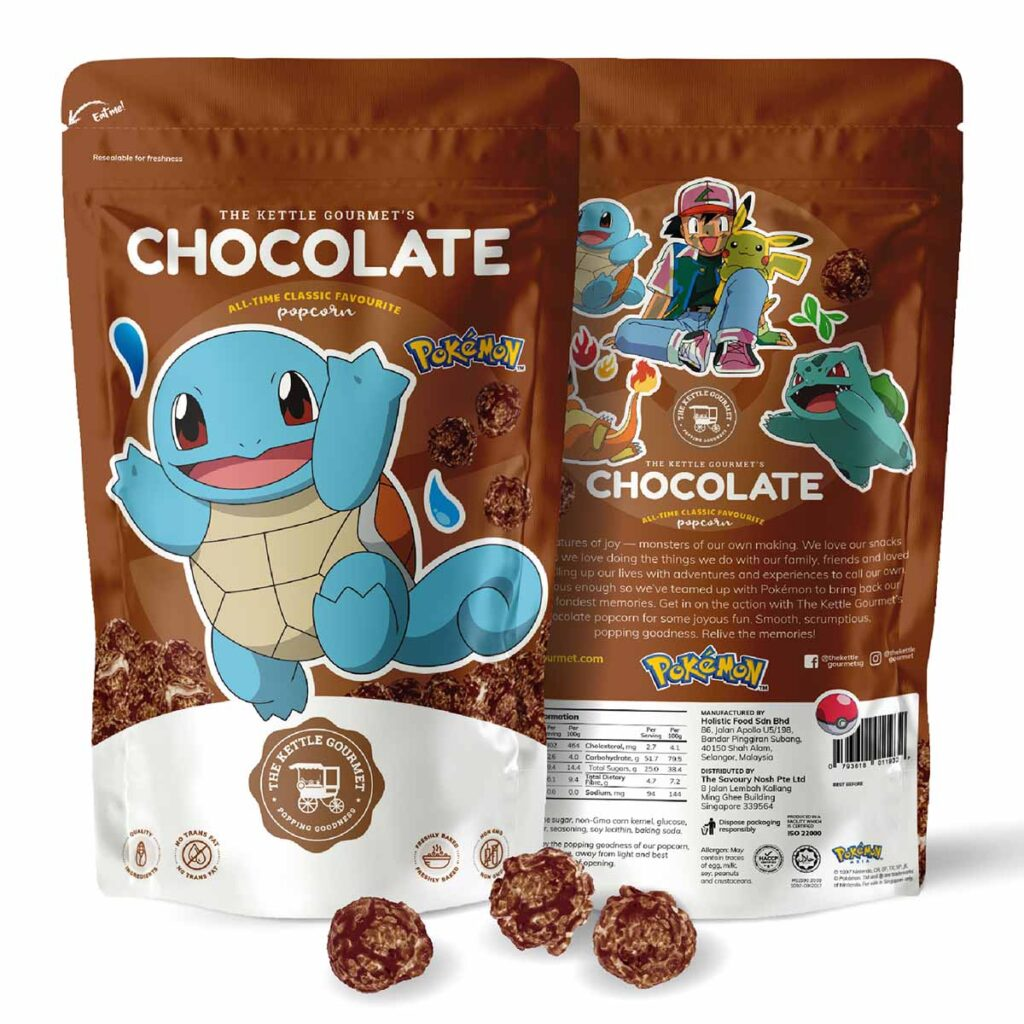 The Kettle Gourmet Chocolate Popcorn feat. Squirtle