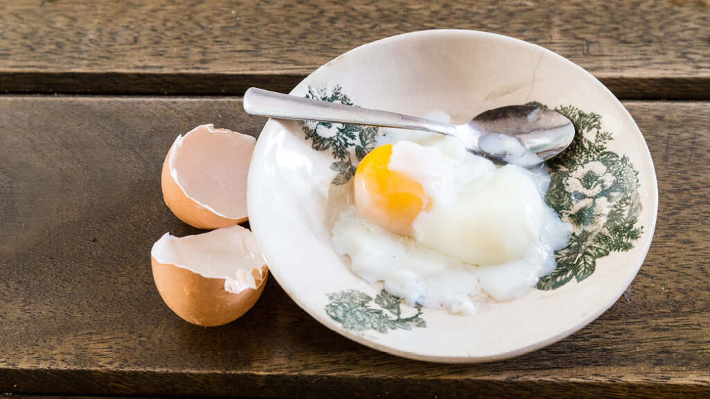Eggs are rich in protein and biotin, two nutrients that promote hair growth