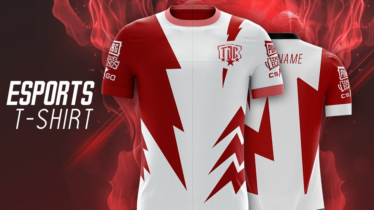 The attention to detail in design and production ensures this product looks and feels great. Download Mockup Jersey Cdr Speed Art Esports T Shirt Tdc Youtube Jersey Mockup Cdr Mens Crew Ne