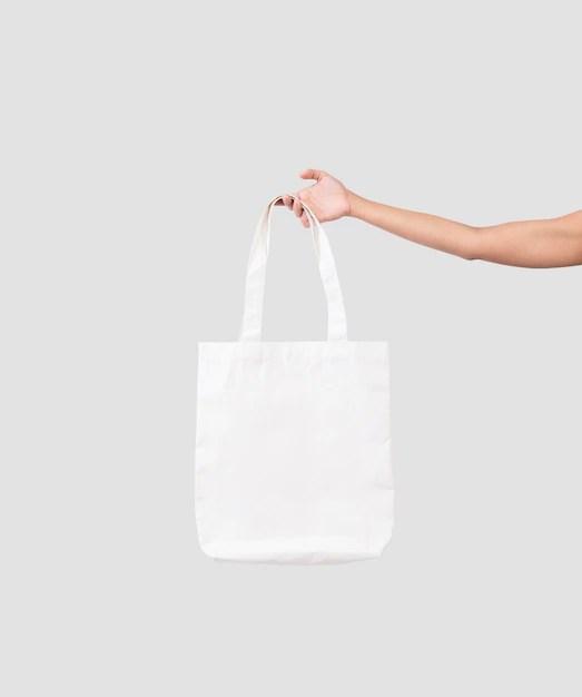 White shopping bag realistic mockup design vector. Decision Officials Evaporate White Tote Bag Mockup Tembotarangirelodge Com