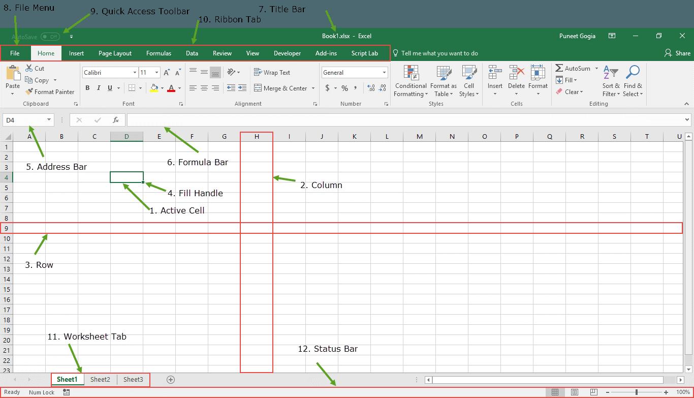 Pengenalan Pengertian Dan Manfaat Microsoft Excel