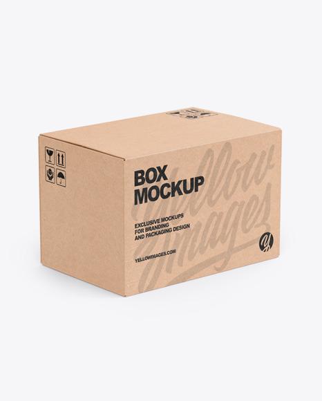 Download Mockup Box Carton Yellowimages