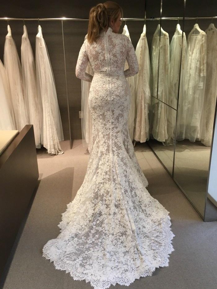 Pronovias Elvira Preowned Wedding Dress Save 65% – Stillwhite