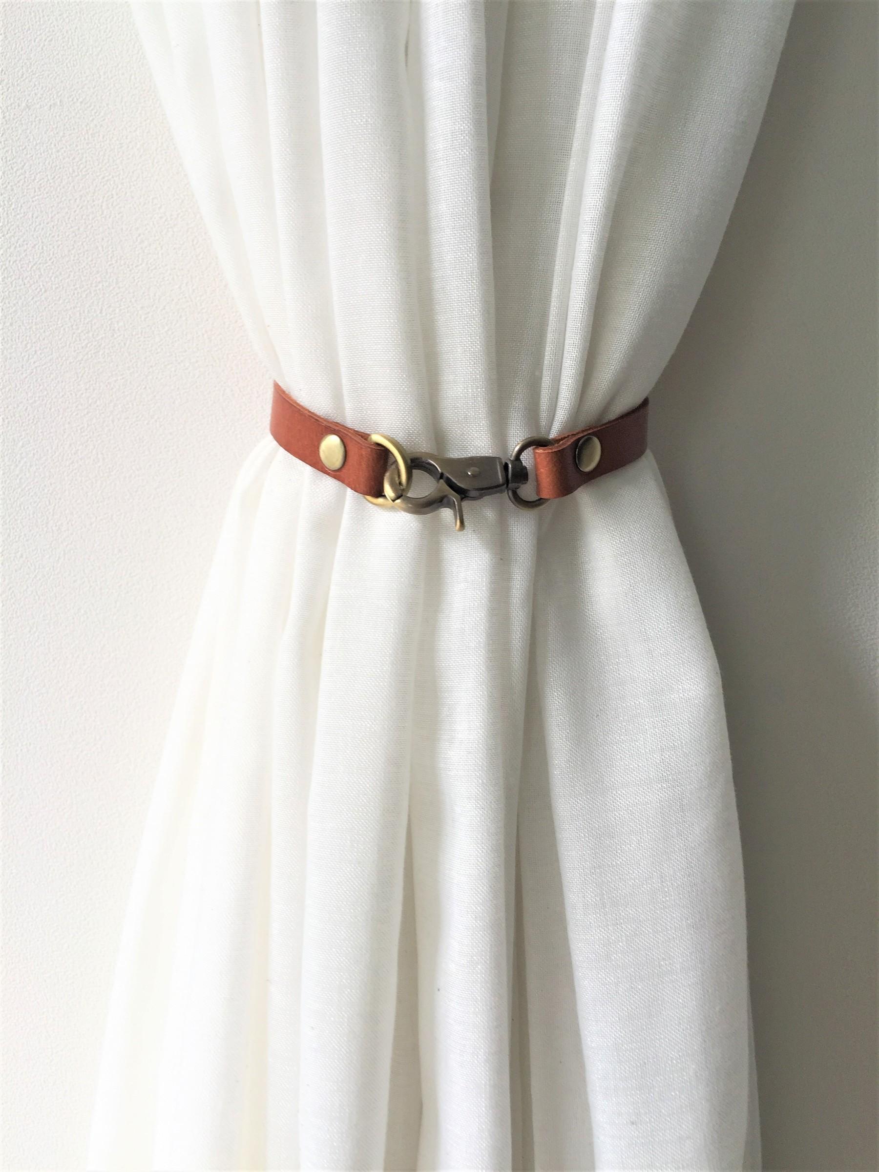 16mm leather curtain tie back elegant curtain tieback modern decor