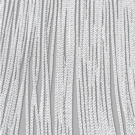 rideau a fils ignifuge permanent blanc haut 320 cm larg 100 cm