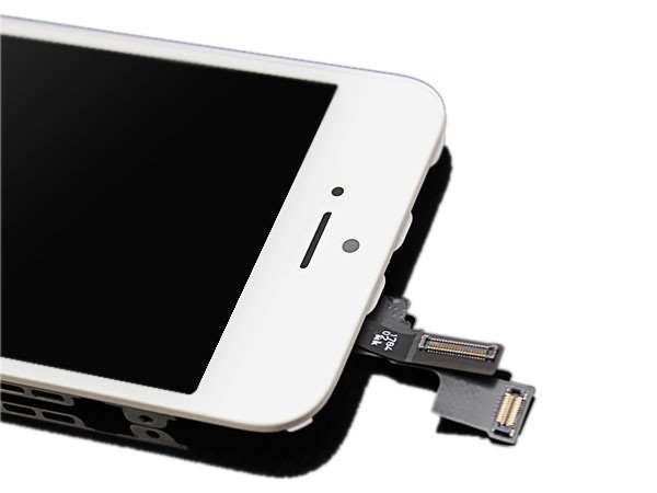 ecran lcd original iphone 5s blanc