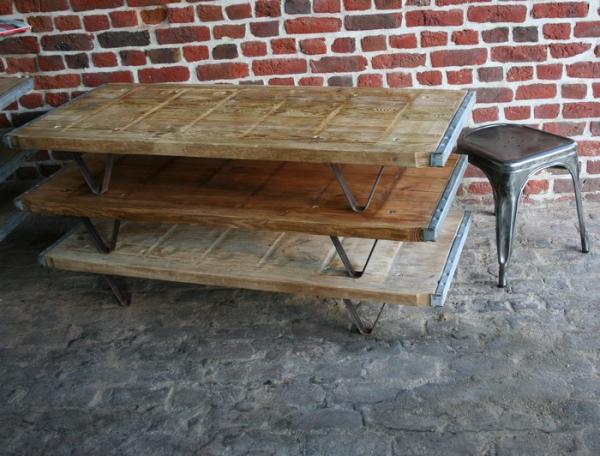 table de salon bois
