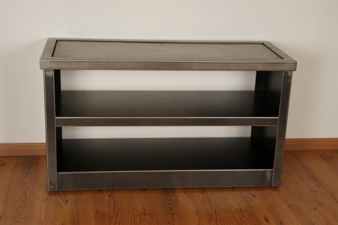 meuble television acier meuble tv design