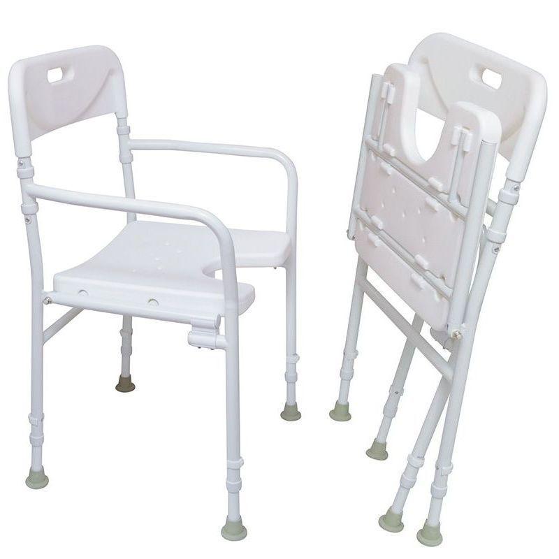chaise de douche pliable