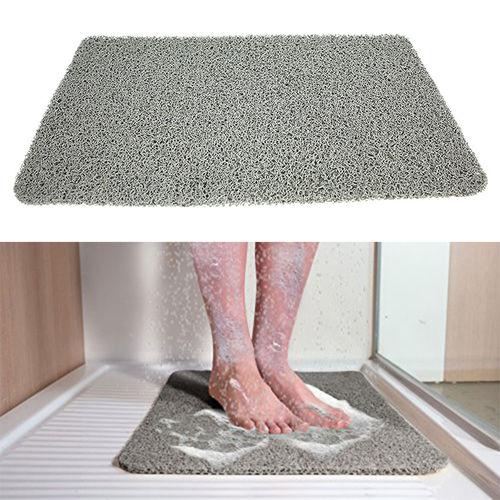 tapis de salle de bain antiglisse hydrophobe