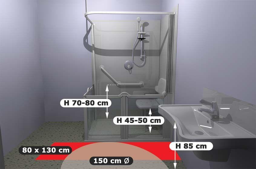 normes d accessibilite pmr salle de bain