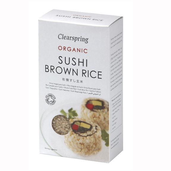 riz complet biologique pour sushi