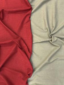 tissu lin viscose coloris des tissus en stock rouge tilleul