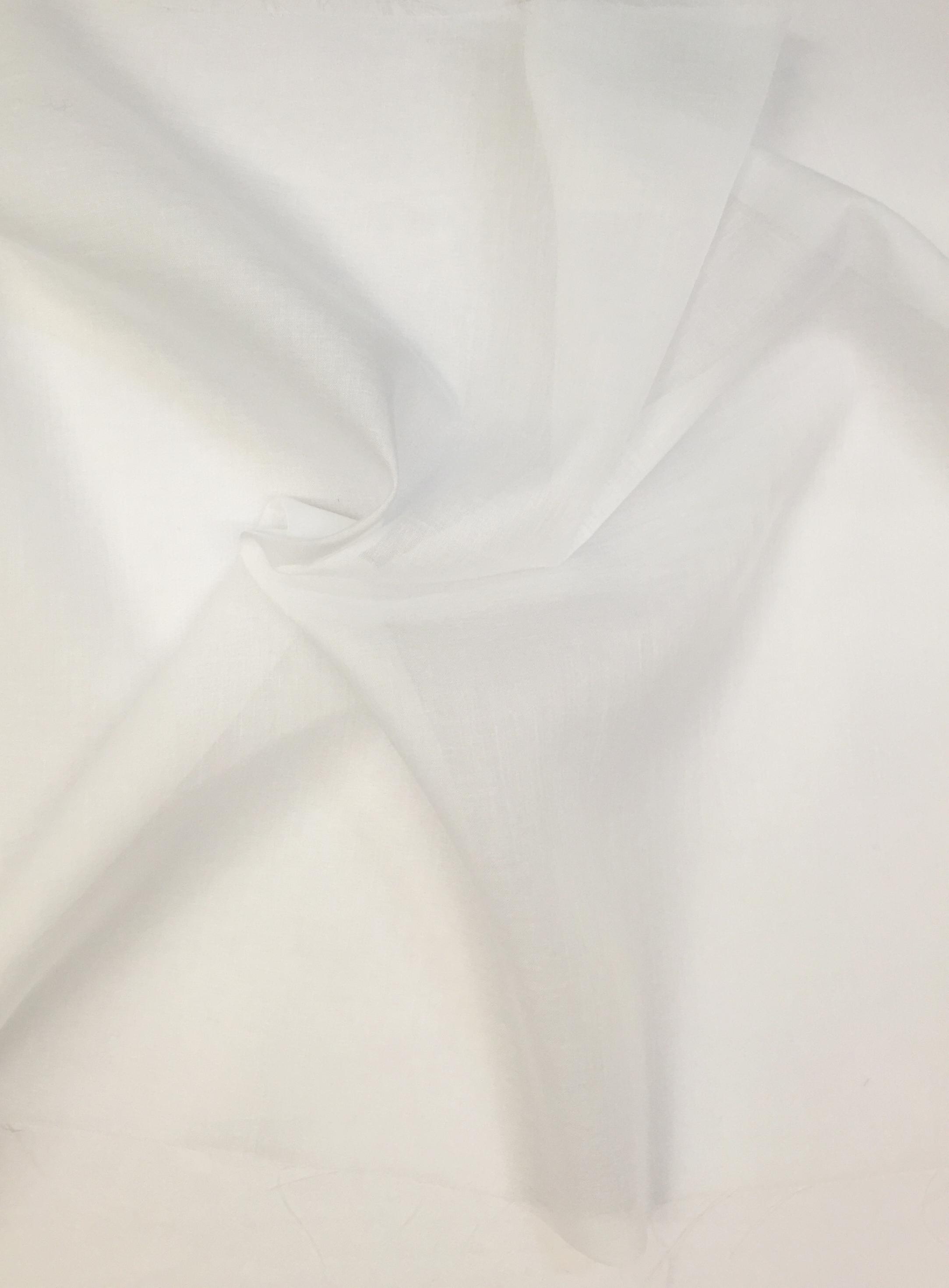 tissu voilage 300 cm coloris du tissu en stock blanc
