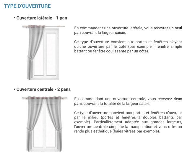 ᐅ rideau voilage rideaux sur mesure