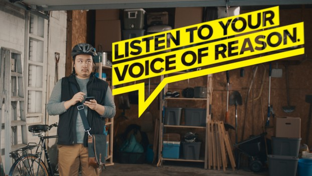 """Fraudsters pretending to be government employees scam $100 million a year from trusting Canadians. Target's national TV and digital campaign responded with humour: if that tax refund sounds too good to be true, well, listen to your """"voice of reaso"""