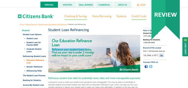 Citizens Bank Personal Loans