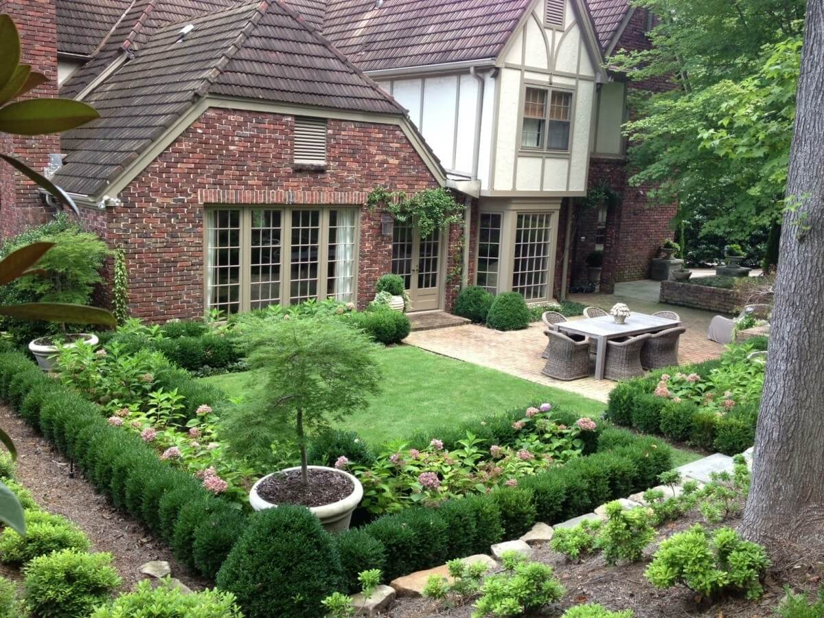 Beautiful and Functional Garden Design on Backyard Patio Layout id=46744