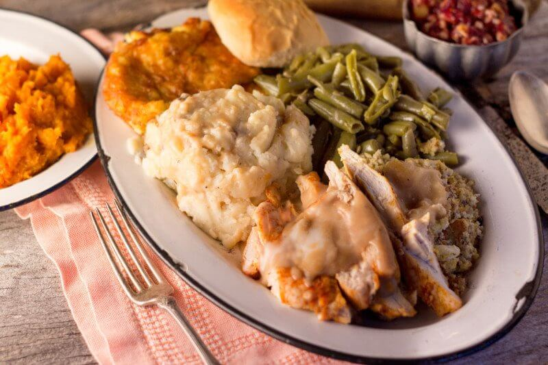 Thanksgiving meals are available for take-out at places like Puckett's.