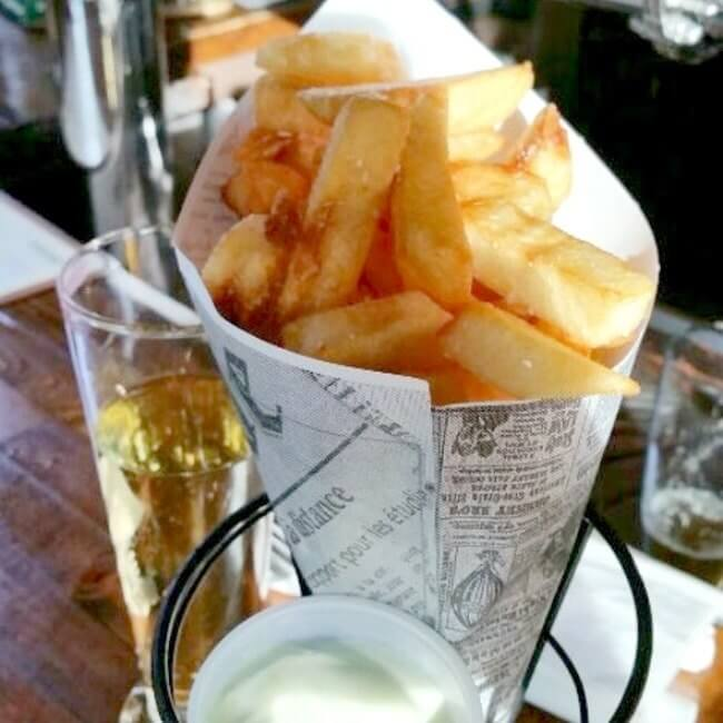 fancy french fries