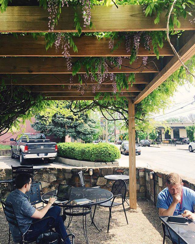 How Beautiful Is This Greenery Covered Patio At VINT? Courtesy Facebook