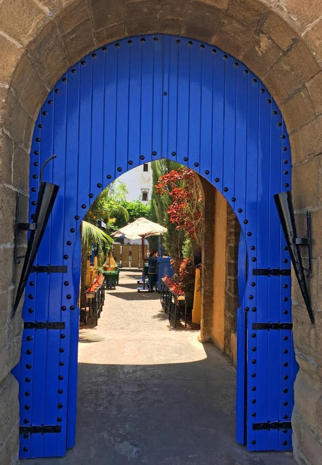 Le groupe a déjeuné à La Squala à Casablanca.