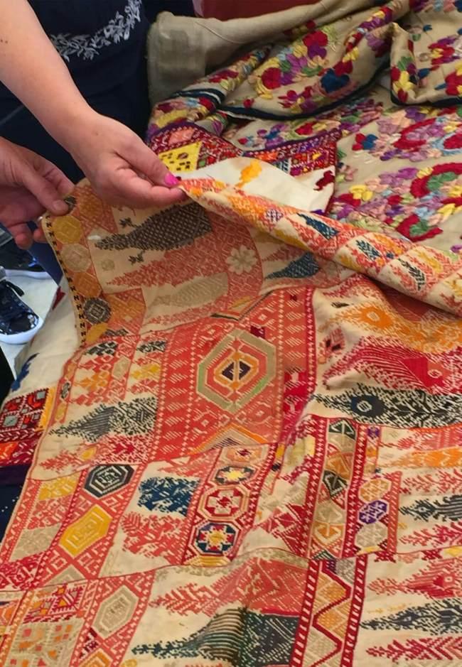 Les amateurs de textiles et de tapis étaient au paradis quand ils ont eu l'occasion de faire connaissance avec certaines des meilleures collections du pays.