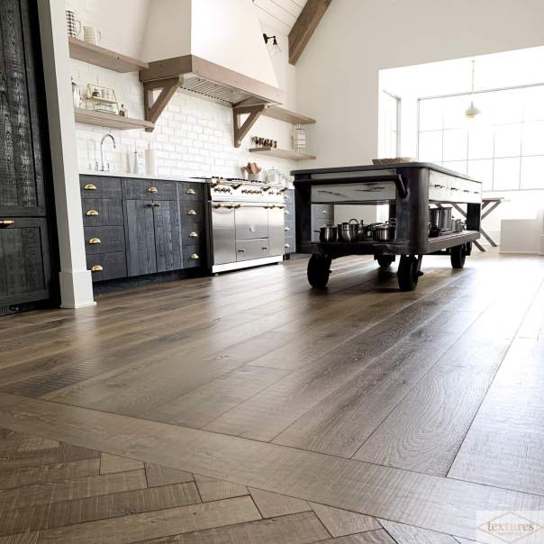 Kitchen floor trends