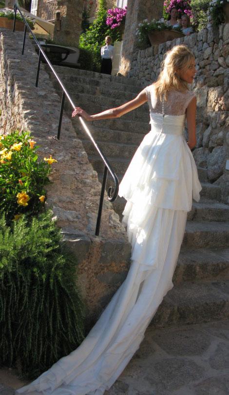 Anja Rubiks Wedding Anja Rubiks White Bride Dress By