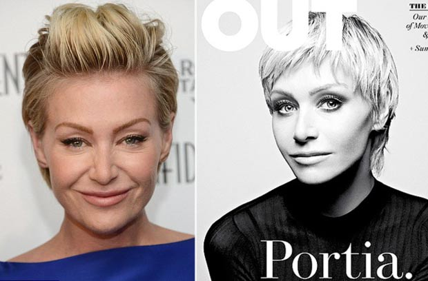 Portia De Rossi's New Haircut