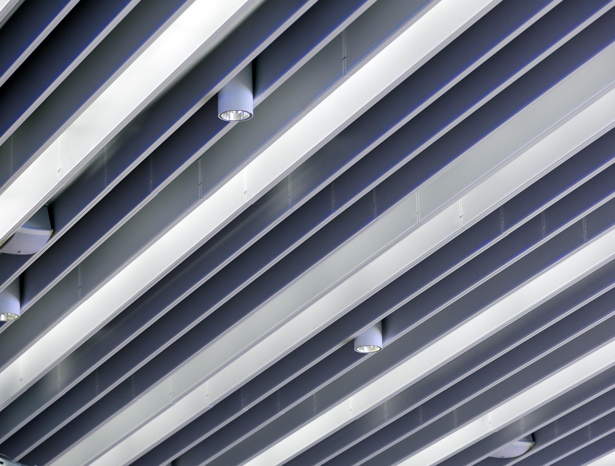 Baffle Ceiling Detail Taraba Home Review