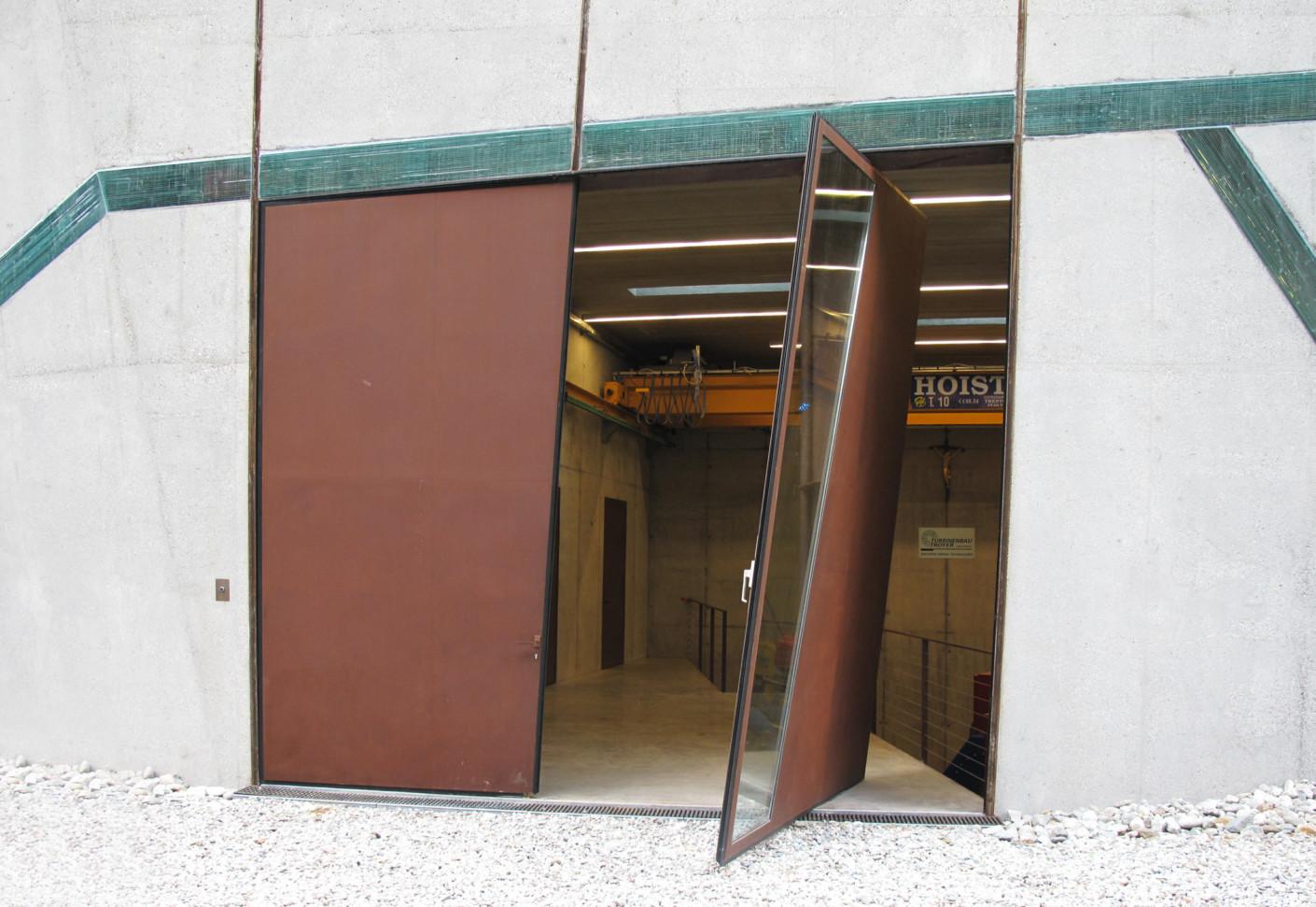 Special Door Power Station Winnbach By Auroport STYLEPARK
